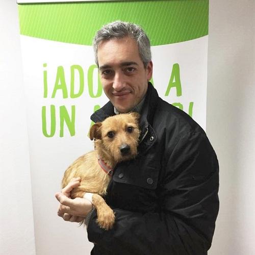 ¡Almandino adoptado!