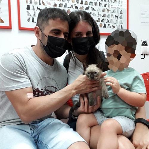 ¡Bouro adoptado!