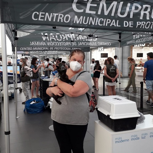 ¡Carmona adoptado!