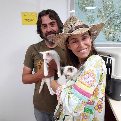 ¡Marly y Pulga adoptadas!