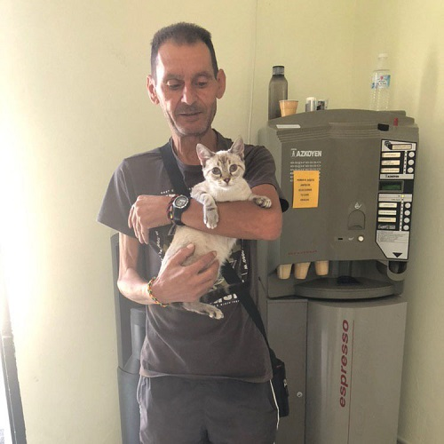 Percy adopted!