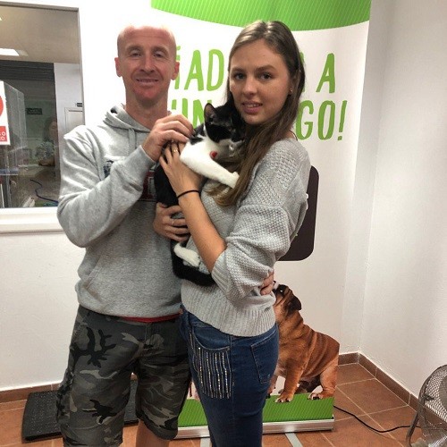Peter adopted!